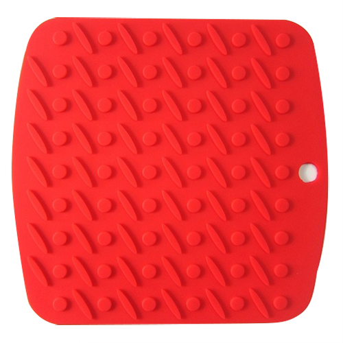 Aliexpress Com Buy Kitchen Holder Mat Silicone Kitchen Trivet Pot Tray Straightener Heat Non Slip Resistant Red From Reliable Mat Silicone Suppliers