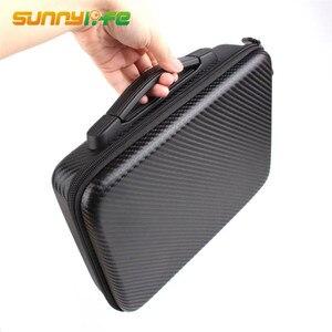 Image 4 - Portable Handheld Storage Bag Waterproof PU Carrying Case Accessory Shoulder Bag PU EVA Suitcase for DJI Mavic Air