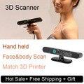 3D сканер для 3D принтер ручной тела лица объекта сканирования 3d Моделирования программного обеспечения лазерное сканирование бесплатная доставка DHL