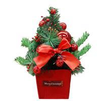 Kunstmatige Massaal Kerstboom 30 cm Multicolor Festival Raam Tafel Decoratie Thuis Ornament Gift Drop Verzending ap1106