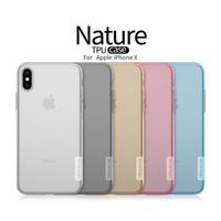 NILLKIN Ultra Thin Transparent TPU Case For Iphone X Phone Case Silicone Back Cover Luxury Soft