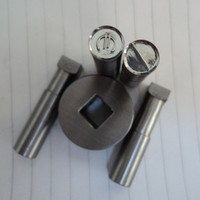 Small single punch tablet machine mould