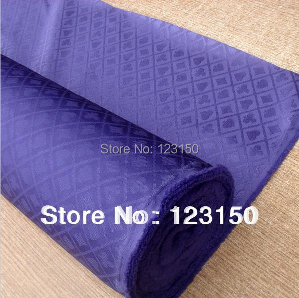 ZB-024-1 Purple High Speed Poker Cloth, Waterproof , Suited, High Quality, Width 1.5M