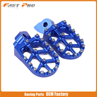 Billet CNC Foot Pegs Rests Pedals For Husqvarna 50 125 250 300 350 400 450 510 CR SM SMR TC TE WR TXC 1999 2013 OFF ROAD