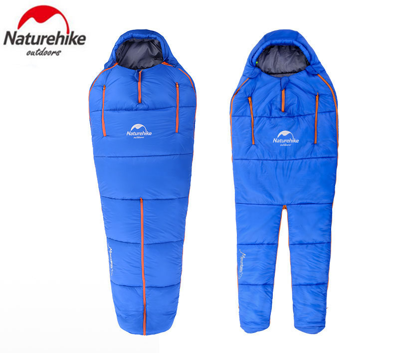Delightful Colors And Exquisite Workmanship Persevering Naturehike Humanoid Sleeping Bag Ultralight Warm Cotton Material Gear Outdoor Waterproof Camping Adult Sleeping Bag Nh16r200-x Famous For Selected Materials Novel Designs