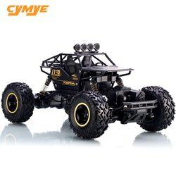 Cymye rc auto 6141 4WD 1/16 Bilancia 2.4G Telecomando Off Road Del Veicolo di Arrampicata RC Buggy