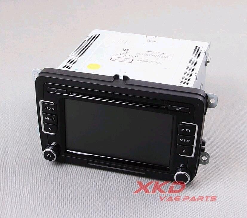 OEM Original Car Radio RCD 510 RCD510 CD MP3 AUX USB Code VW Jetta Golf 6 GTI MK6 Passat B6 B7 Tiguan Polo 5ND 035 190 - XKD_Auto parts International trade Co.,Ltd. store
