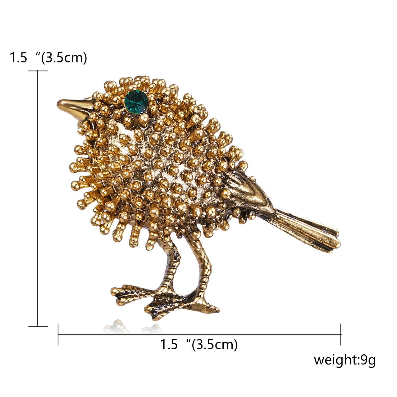 Pássaro do vintage Inseto Besouro tartaruga Broches libélula cobra Aves Colarinho Vestido Terno Banquete Decoração Pinos Broche jóias