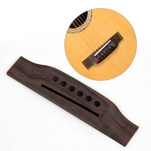 Acoustic Guitar Bridge for 6 S