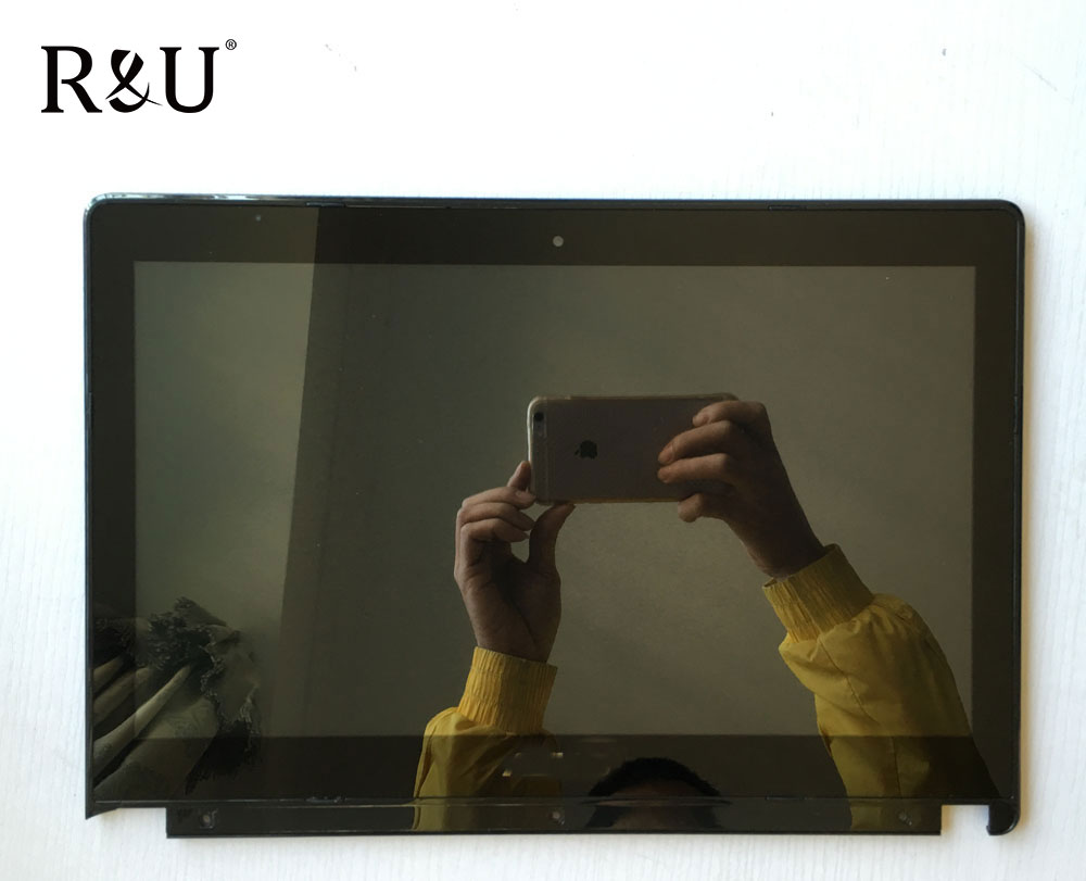R&U test good high quality LTN140AT20 lcd screen display with touch screen digitizer assembly For Asus X450CC X450