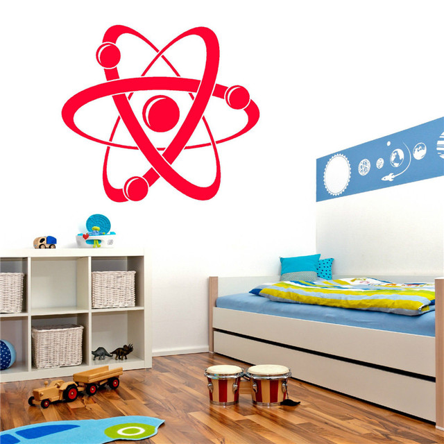 Aliexpresscom Buy G ATOM DIAGRAM Vinyl Wall Art Sticker - Vinyl stickers designaliexpresscombuy eyes new design vinyl wall stickers eye wall