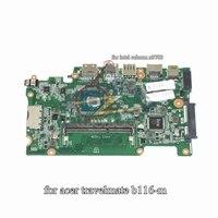 DAZHKDMB6C0 for acer travelmate b116 m laptop motherboard for pentium n3700 DDR3L