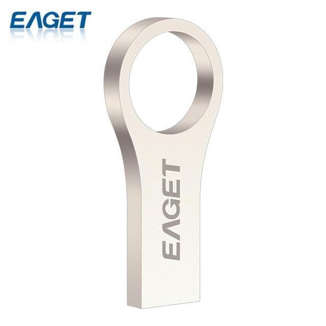 Eaget u66 de alta velocidad usb 3.0 flash drive memory stick regalo pendrive 32G Cle USB Flash Stick Pen Drive Llavero Impermeable