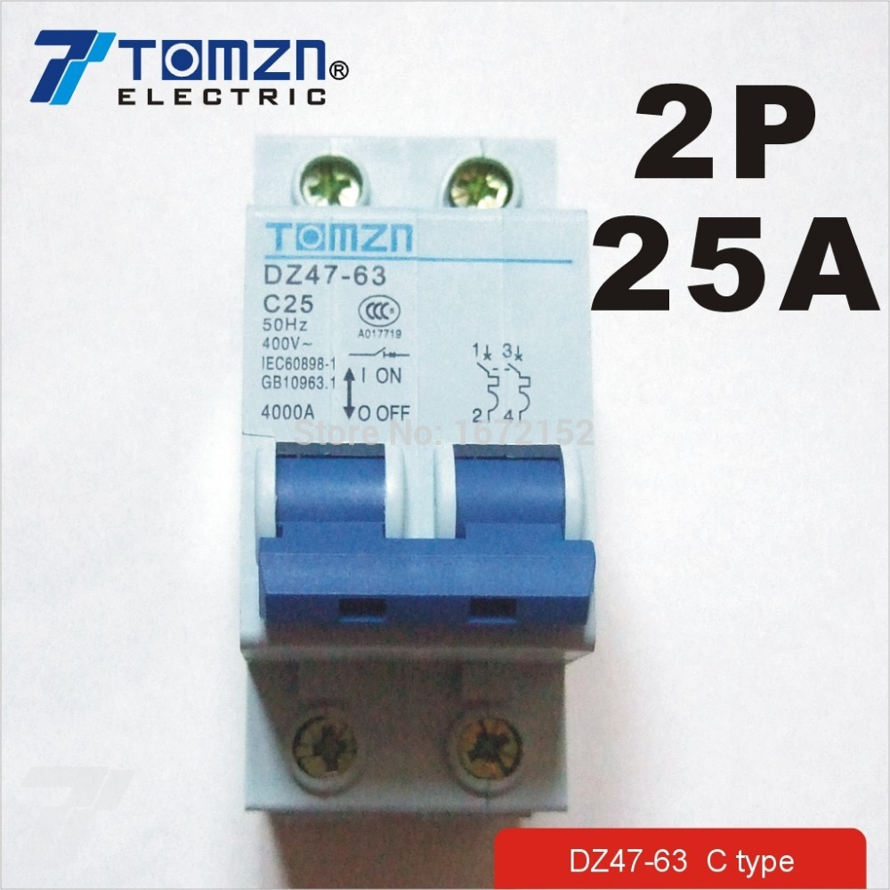 80a 220v Adjustable Automatic Reconnect Over Voltage And Under Circuit Breaker Kc163 C25 China 2p 25a 400v 50hz 60hz Ac Mcb Safety C Type