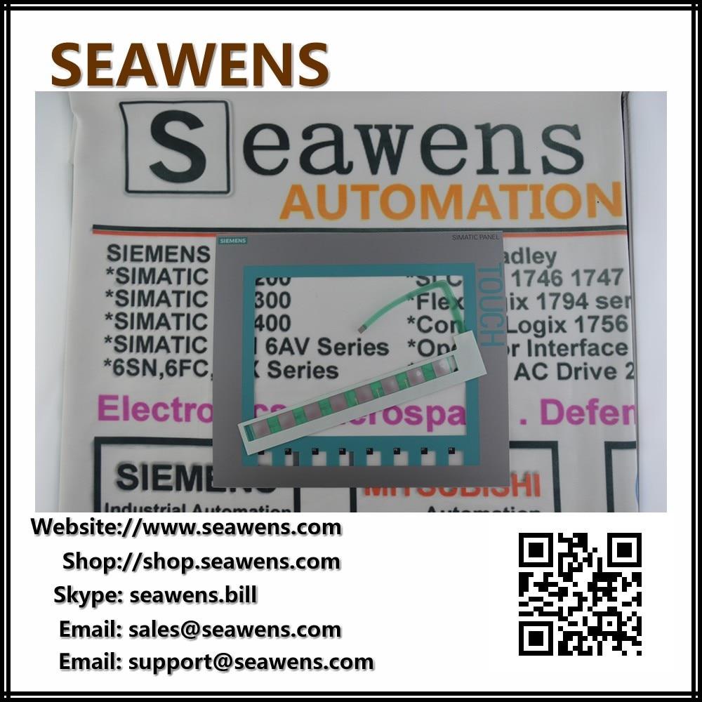 New Membrane keypad for 6AV6647-0AF11-3AX0 SlEMENS KTP1000 HMI Repair new 6av6647 0ag11 3ax0 15 0 inch touch screen glass