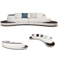 3pcs import leather sofa set for big villa living room #CE GY 9040
