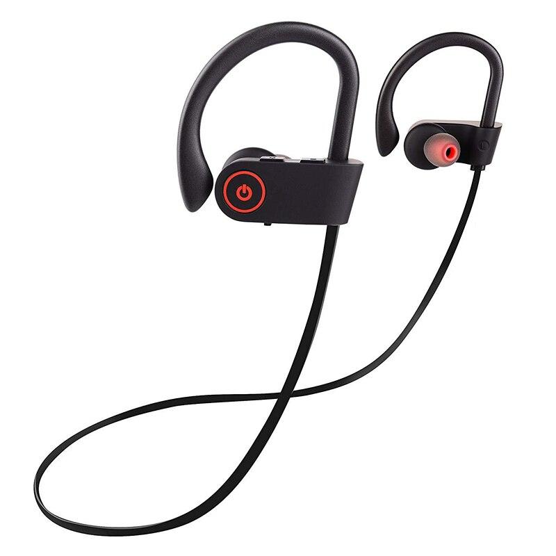 À prova d' água Esporte Fones de Ouvido Sem Fio Fone De Ouvido Bluetooth Fone de Ouvido fone de Ouvido Áudio Estéreo com Handsfree Mic para a Execução de