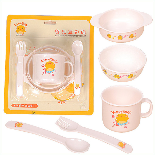 Toddler Baby Feeding Training Bowl With Spoon Set Cartoon Binaural Baby Feeding Tableware Kids Plate Sucker  sc 1 st  AliExpress.com & Toddler Baby Feeding Training Bowl With Spoon Set Cartoon Binaural ...