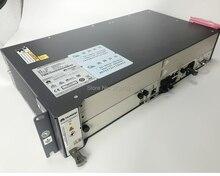 Huawei olt ma5608t 16 bağlantı noktası optik hattı terminali Gpon/EPON OLT cihaz şasi + 1 * MCUD + 1 * MPWC olmadan servis kartı.