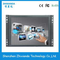 Zhixianda 8 Inch 4 3 1024 768 Metal Case Open Frame LCD Touch Screen Monitor With