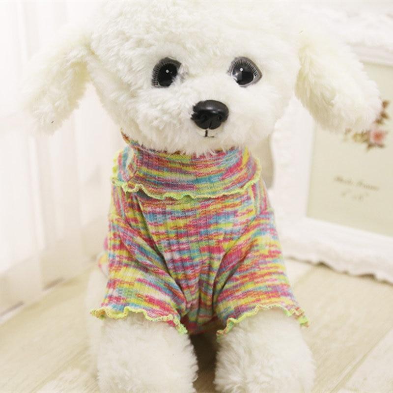 Frühling Hund Pullover Strickwaren Hund Kleidung für Kleine Hunde ...