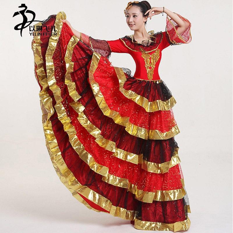 Flamenco Dress Spain New Opening Dance Dress/ Tango
