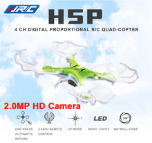 JJRC H5P 4CH 6 Axis Gyro 2 4GHz RC Quadcopter Drones w 2MP Camera One Key