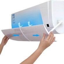 Deflector de aire acondicionado Anti soplado directo escudo retráctil cubierta de aire acondicionado frío Deflector de viento