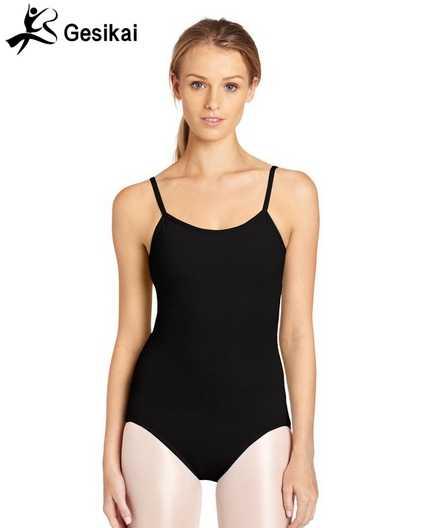 Women Camilesoles Straps Leotards Gymnastics Ballet Leotards Spandex Swimsuit Stretch Women Yoga Leotards
