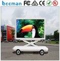 Leeman P10 Мобильный СВЕТОДИОДНЫЙ Экран Знак Трейлер для Наружной Рекламы, деятельности, события трейлер СВЕТОДИОДНЫЙ дисплей знак для видео