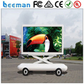 Leeman P10 LED Mobile Sign Screen Trailer for Outdoor Advertising, Activities, Events trailer LED display sign for video