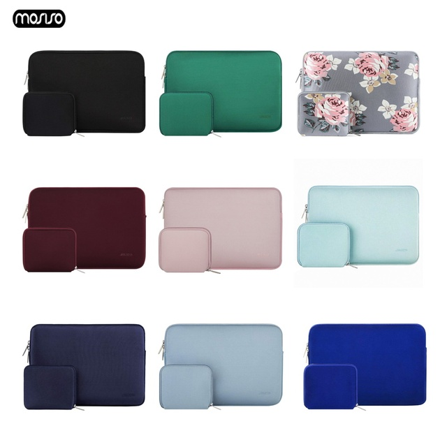 MOSISO Waterproof Laptop Sleeve Notebook Bag Pouch Case for Macbook Air 11 12 13 14 15 Pro 13.3 15.4 Retina Unisex Computer Bags