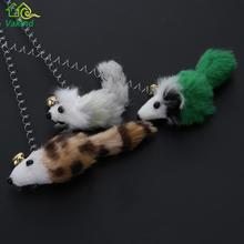 Fake spring mouse-catch cat toy (3 pcs set)