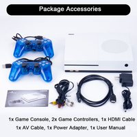 HDMI Output 64 bit X Game Console Dual Core Video Game Palyer Built In 600 Classic Games Video Game Player Drop Shipping