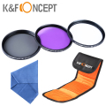 37mm UV CPL FLD Filter Circular Polarizer Lens Filter Kit For Olympus PEN E-PL1 E-PL2 E-PL3 E-PL5 14-42mm Camera cleaning kit