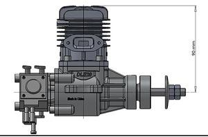 Image 3 - オリジナルdle 20 20CCオリジナルガスエンジンガソリン 20CCエンジンラジコン飛行機モデルホット販売、DLE20CC、DLE20
