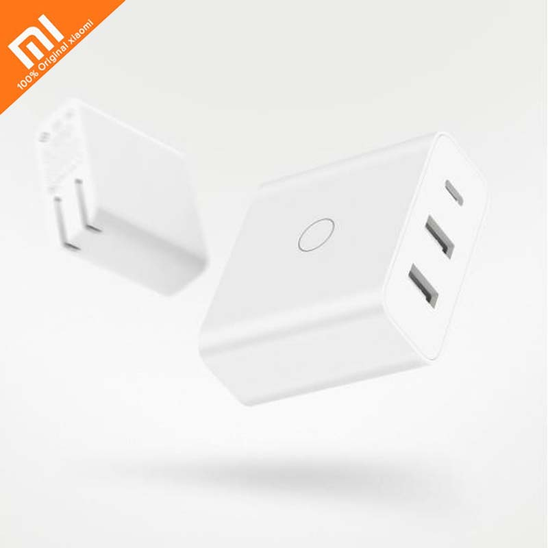 xiaomi ZMI USB charger 65W fast charge version USB C type C 45W output USB A