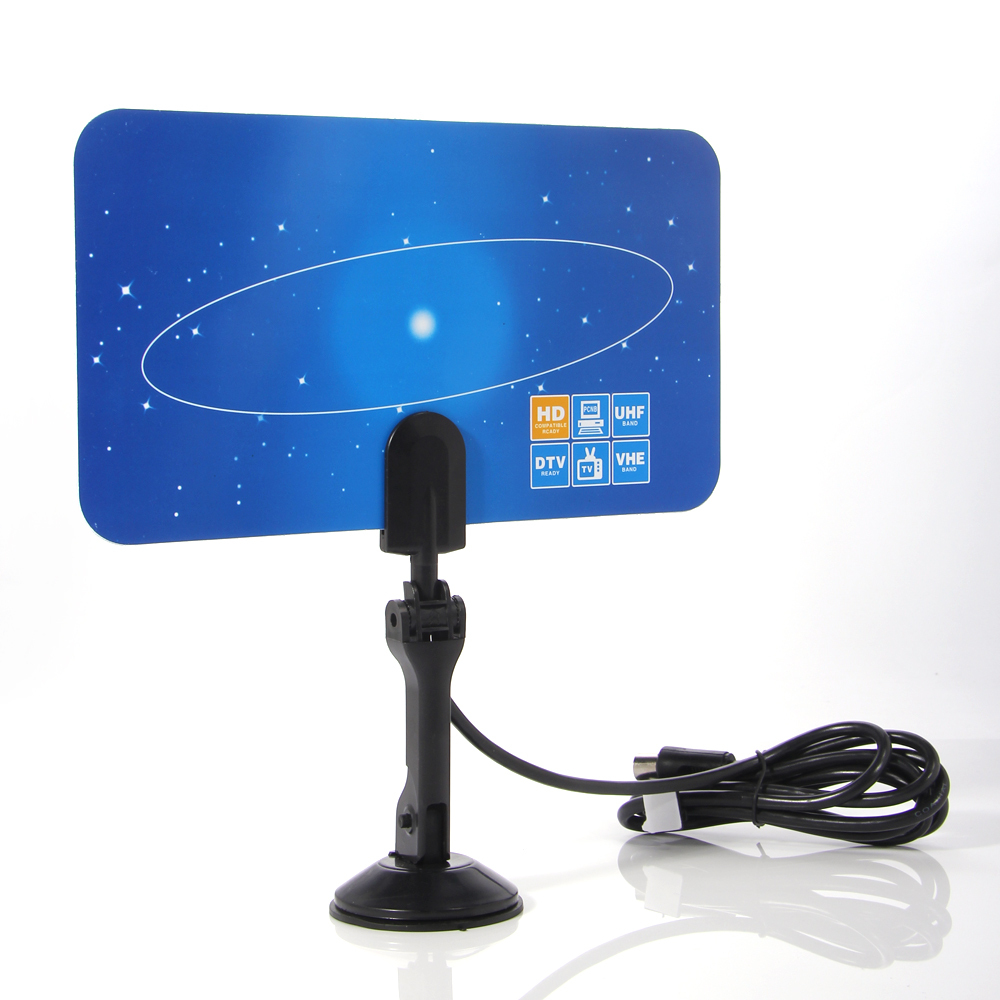Free Shipping Digital Indoor Tv Antenna Hd Tv Hdtv Dtv Vhf