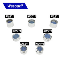 Wasourlf M18 M20 M22 M24 Water Saving Aerator for Faucet Tap 4L Brass Shell