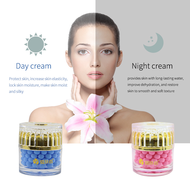Face Day Night cream Whitening Moisturizing Acido Hialuronico Creme Para O Rosto Facial Cremas Faciales Anti Edad Wrinkle Aging in Facial Self Tanners Bronzers from Beauty Health