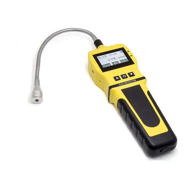 Détecteur de gaz Portable moniteur de qualité de lair détecteur de formaldéhyde analyseur de gaz auto-Test complet avec alarme sonore