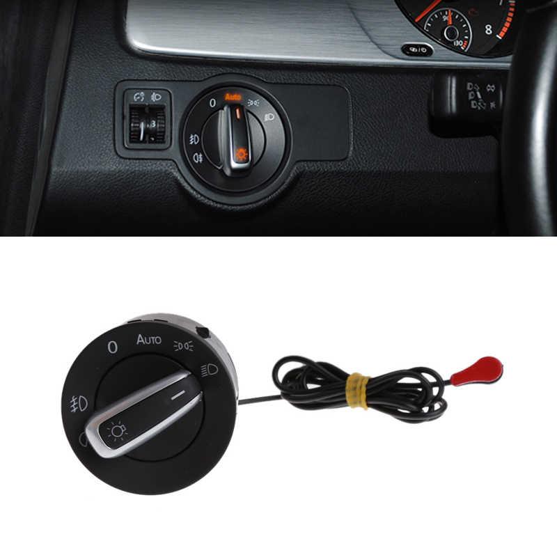 High Quality Plastic Front Fog Light Switch Car Headlight Switch For VW MK5 MK6