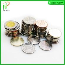 100 шт 25*1,85 мм игровой жетон из нержавеющей стали аркадный жетон игра монета для монетоприемника игровой автомат аксессуары