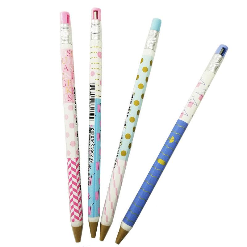 1 Pc Kunststoff Mechanische Bleistift | 2,0mm Core Kein Holz Für Büro Und Student Und Kid Geschenk Präsentieren Kawaii Bunte Hohe QualitäT Und Preiswert