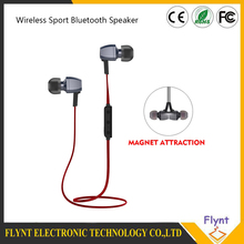 Wireless Bluetooth 4.1 Earphone Sports Running Magnetic Noise Cancelling Earpiece With Mic For Iphone Xiaomi Outdoor Sport