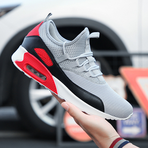 Cork Sneakers Men Shoes Lightweight Sneakers Breathable Mesh Slip-on Casual Shoes For Comfortable Adult Fashion Footwear