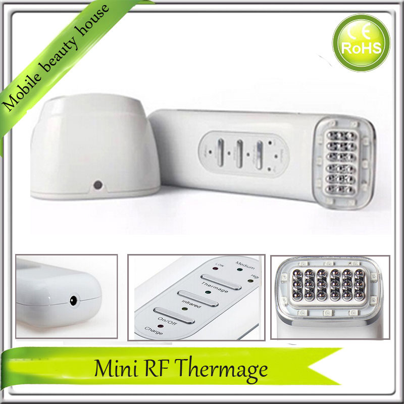 RF Radio Frequency Infrared Red Light Therapy Bio Micrucurrent Skin Stimulation Collagen Growth Facial Beauty Massager Machine galvanic ultrasonic bio microcurrent collagen stimulation regrowth skin whitening acne treatment beauty machine facial equipment