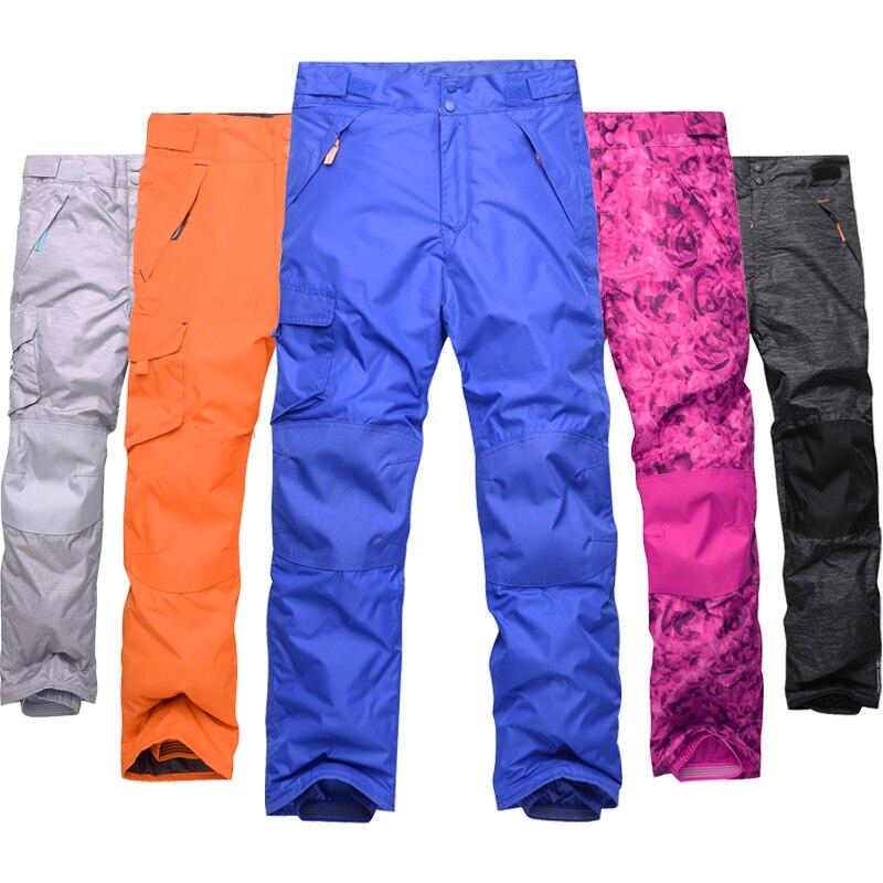 Children's Ski Pants 2018 New Outdoor Windproof Waterproof Warm Boys Girls Cotton Pants Kids Thick Winter Trousers стоимость