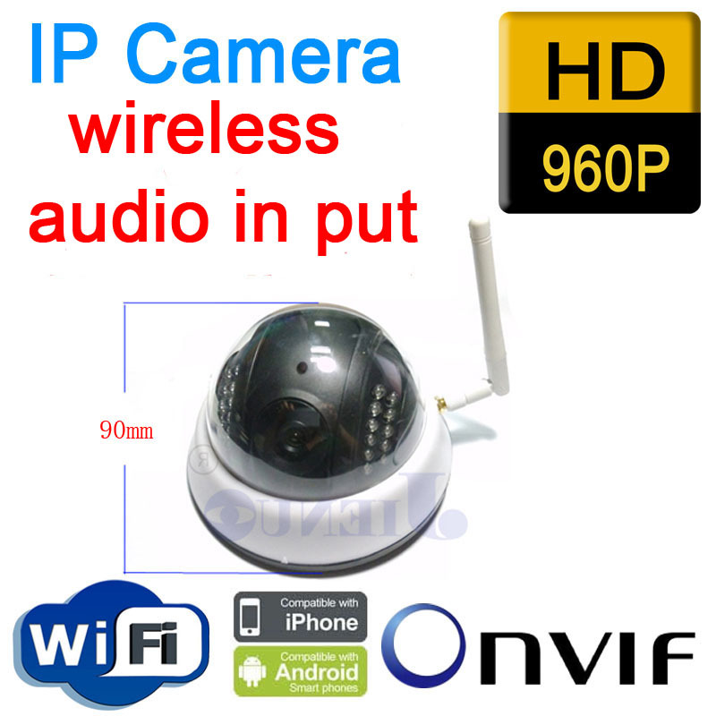 ФОТО 2014 New Arrival Hot Sale Freeshipping Yes Infrared  Cctv Security Onvif Demo Ip Camera Wireless Wifi 960p Hd Mini P2p Home