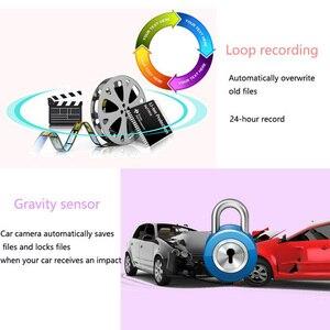 Image 5 - 4.3インチ車dvrミラー1080 1080pデュアルレンズダッシュカメラ自動運転ビデオレコーダーとリアビューカメラ車ダッシュカム